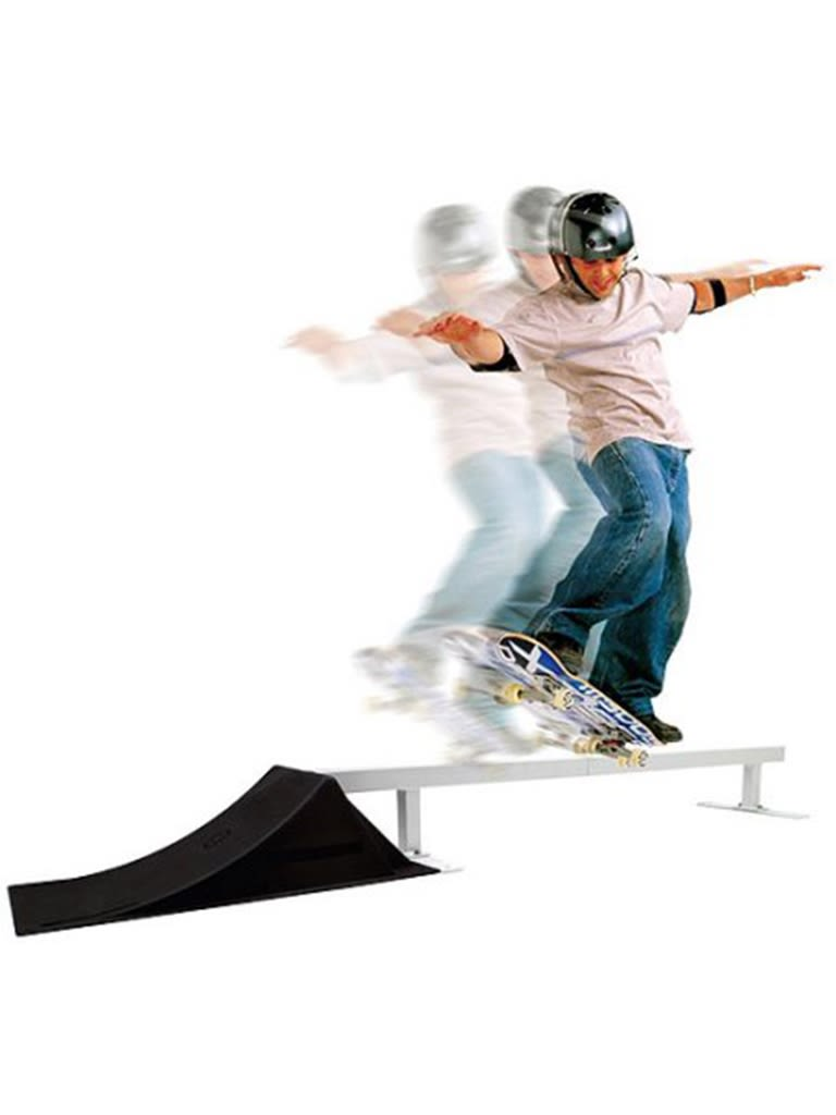 Punk Park Ramp And Rail Combo Set
