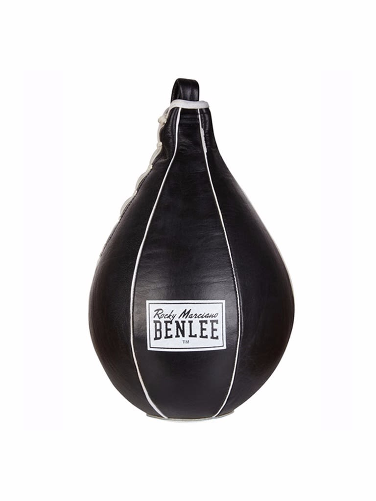 Leather Speedball Mack Black-White Medium