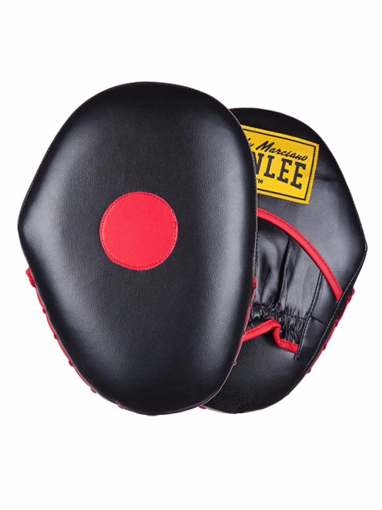 Artificial Leather Hook And Jab Pads Red-Black