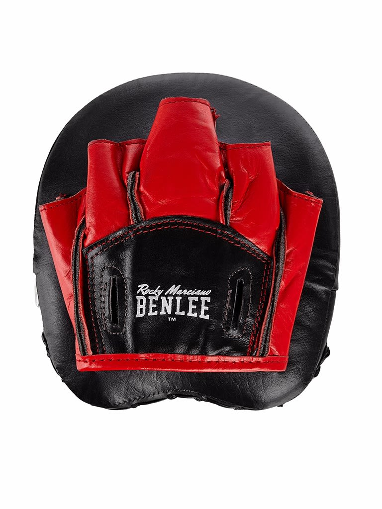 Leather Trainer Pads Boon Pad Black-Red