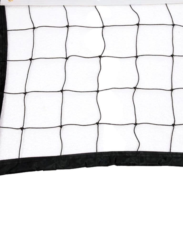 Volleyball Net - 2 mm   Black