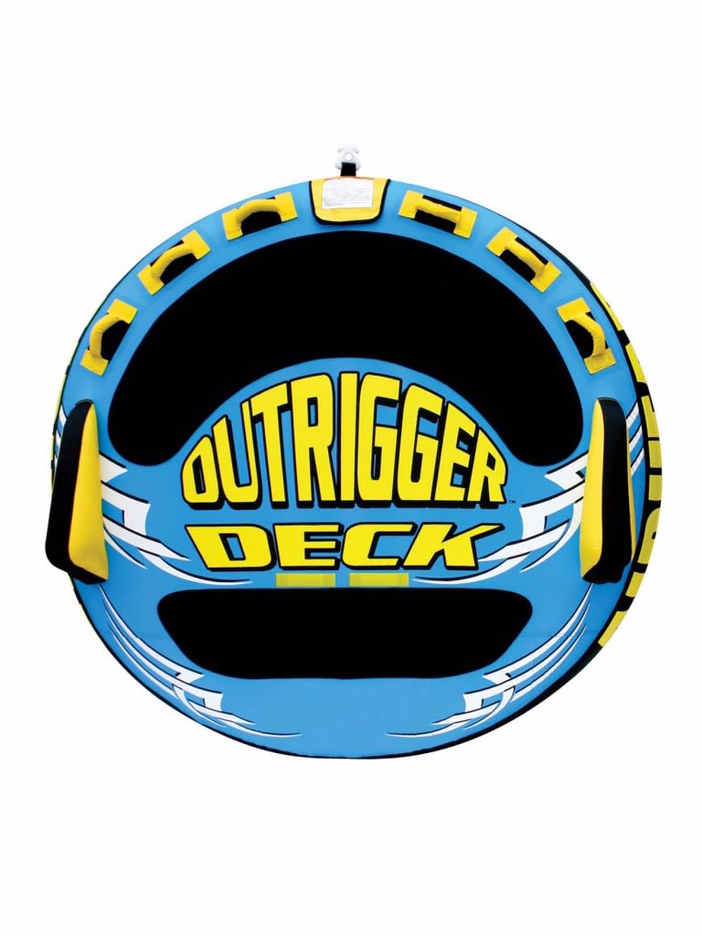 Outrigger inflatable Triple Rider Towable Tube - 3 Person