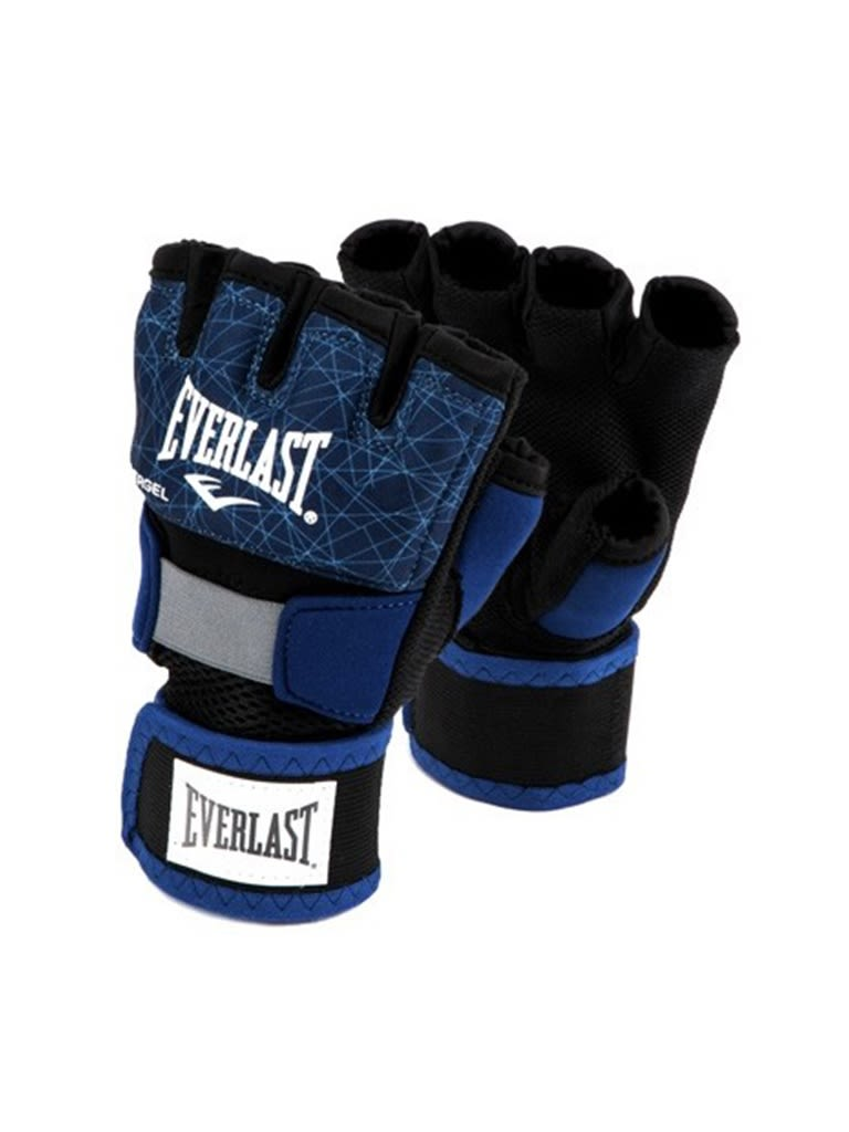 Printed Evergel Hand Wraps Gloves - L | Blue