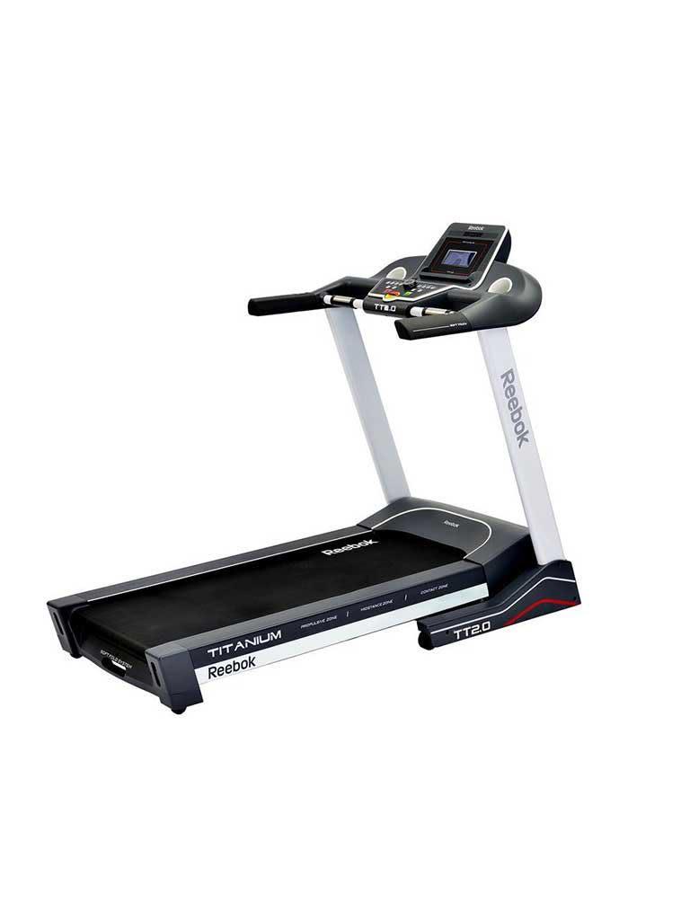 Titanium TT2.0 Treadmill - White
