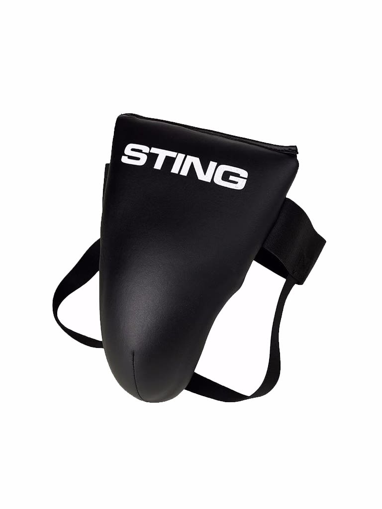 Competition Light Groin Guard Black S