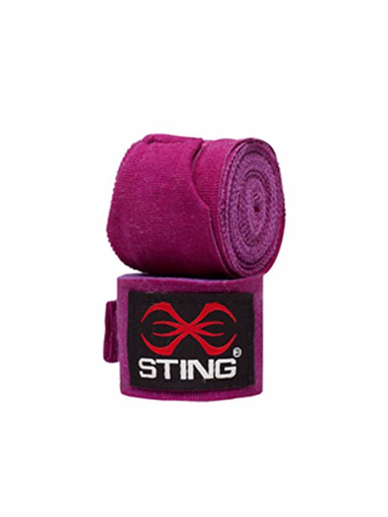 Elasticized Hand Wraps Purple