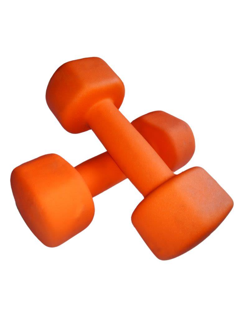 Dumbbell Neoprene Orange - 2 KG