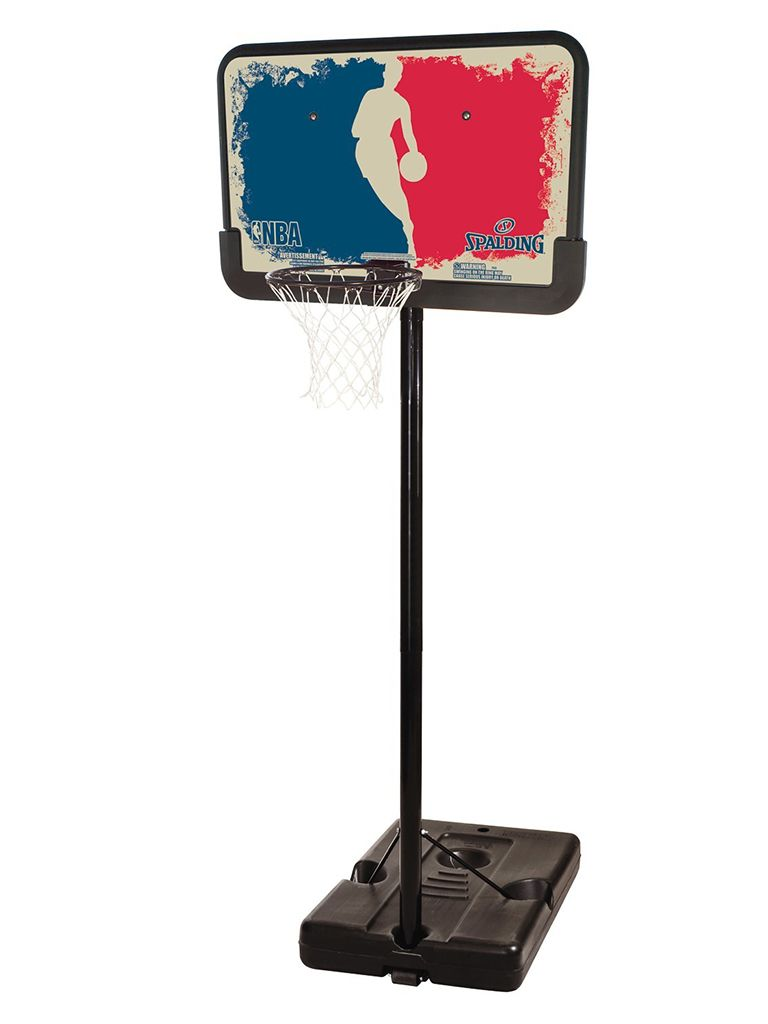 Logoman Series 44 inch Portable Basketball Hoop System