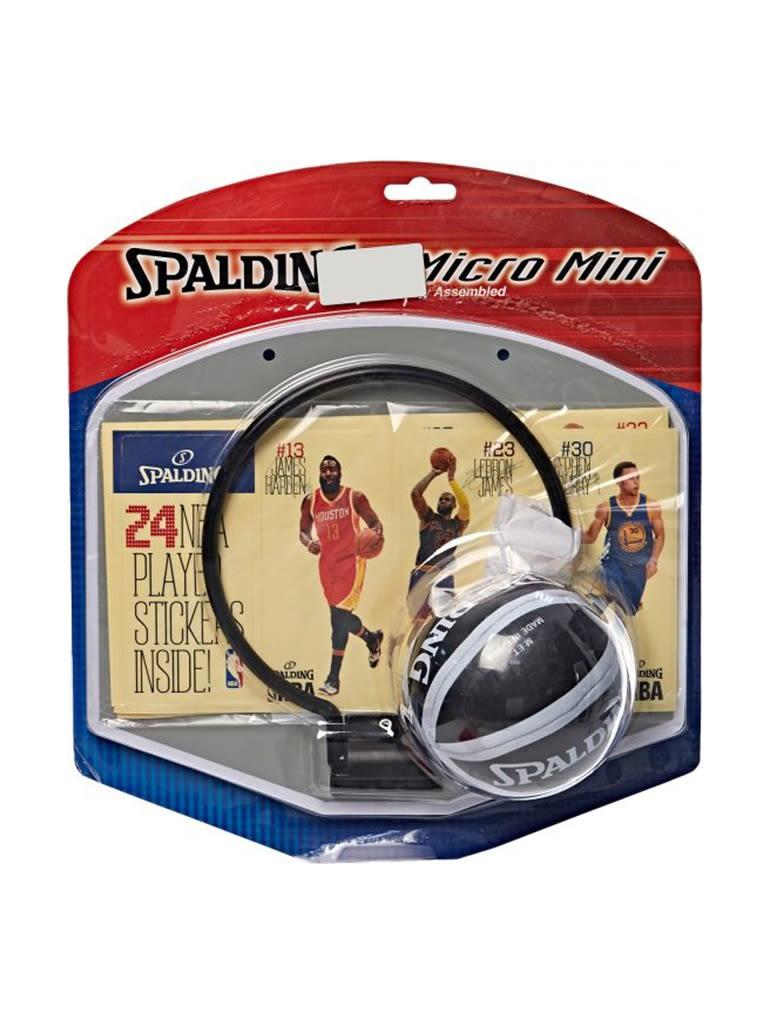 Kids NBA Player Sticker Micro Mini Backboard Set