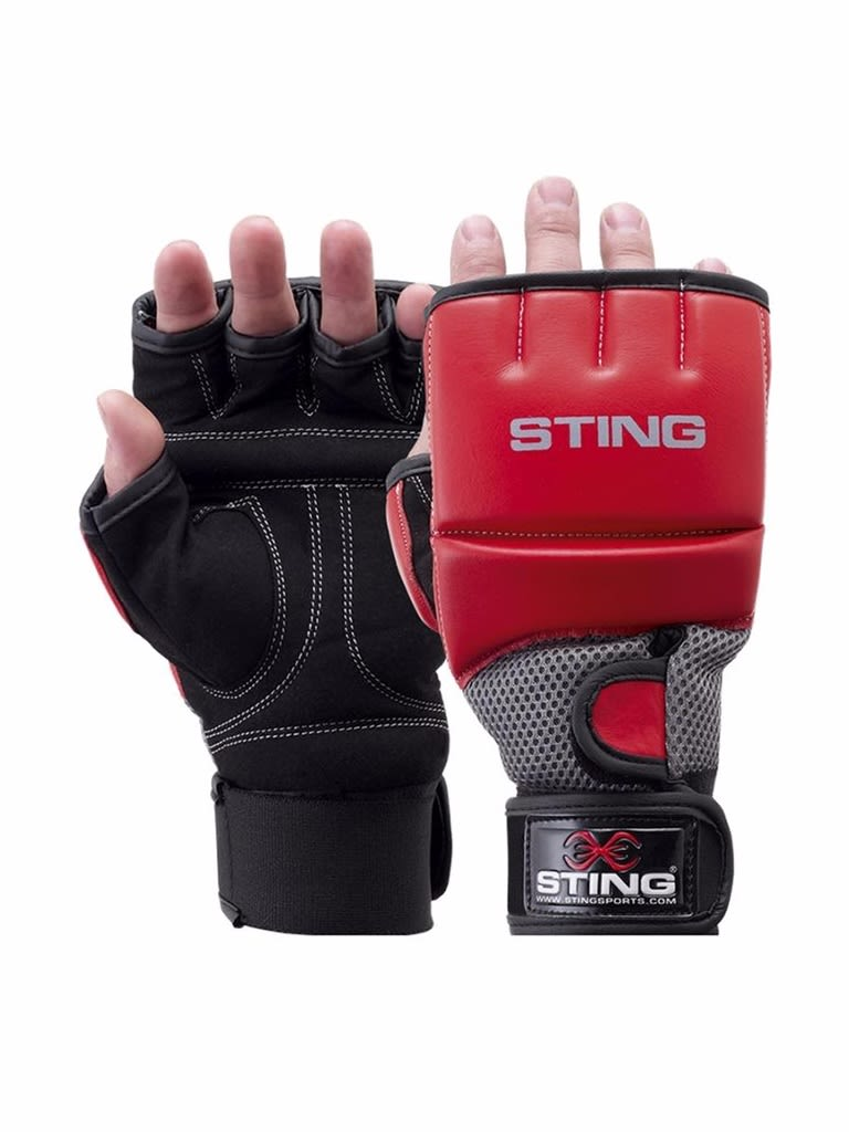 Gel Hybrid Training Glove Red S