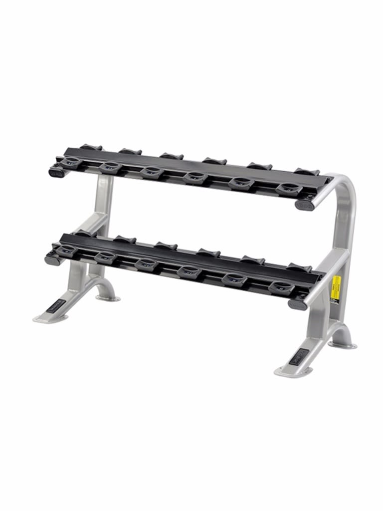 2 Tier Dumbell Saddle Rack