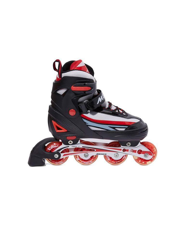 Adjustable Inline Roller Skate | MCB11153 Red Alum