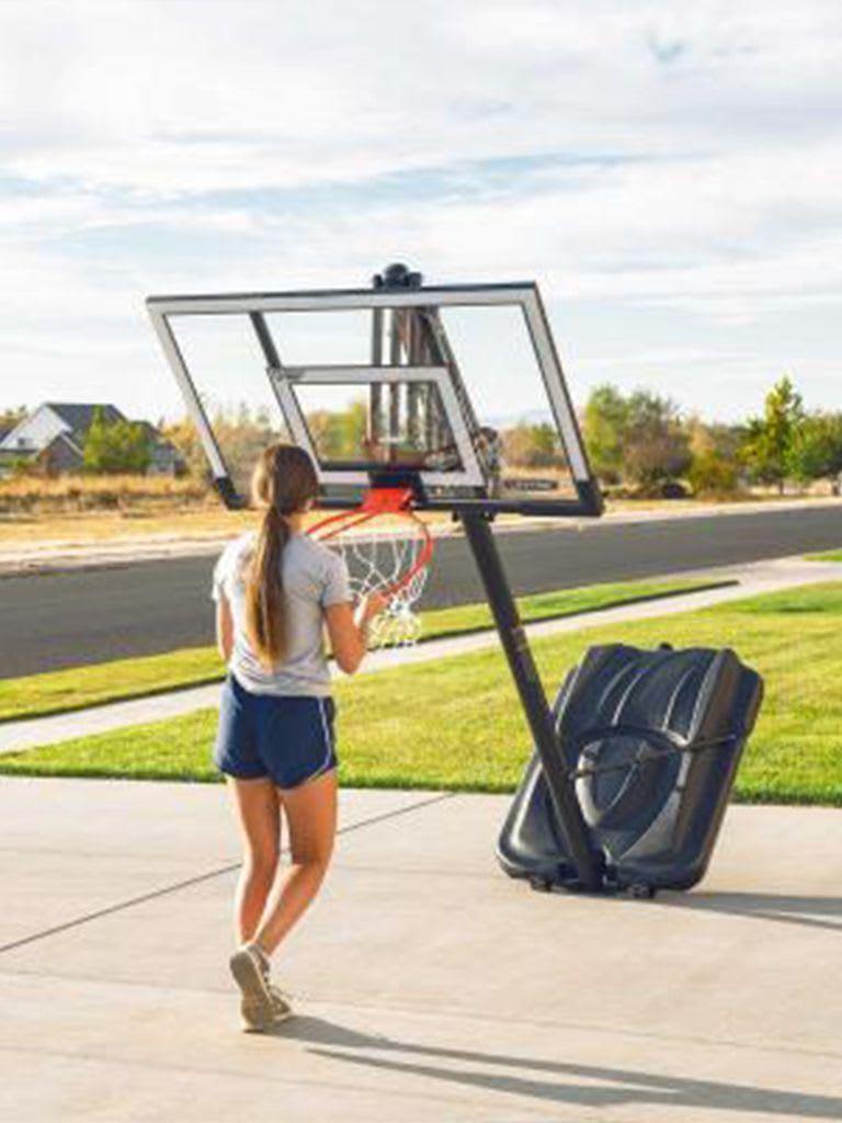 52 inch Adjustable Portable Basketball Hoop