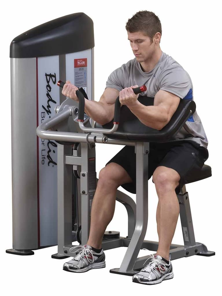 S2AC PC2-Arm Curl Machine with 160 lb. Stack
