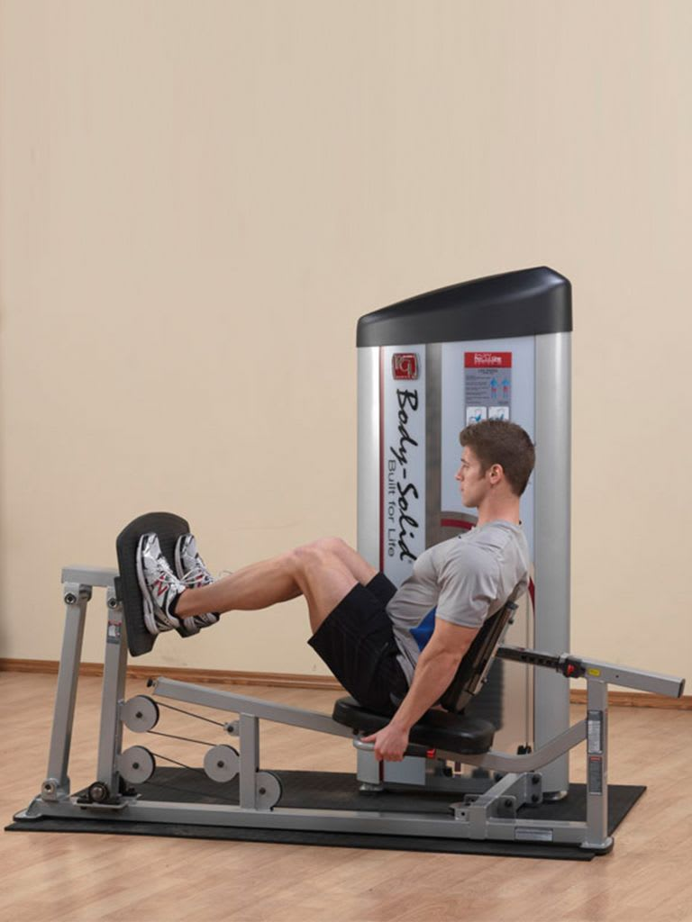 PC2-Leg Press/Calf Raise with 210Lb Stack   S2LPC