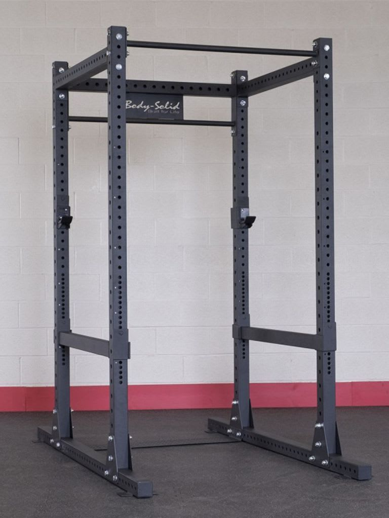 Base Power Rack Cage Double Power Rack with Back SPR1000DBBACK