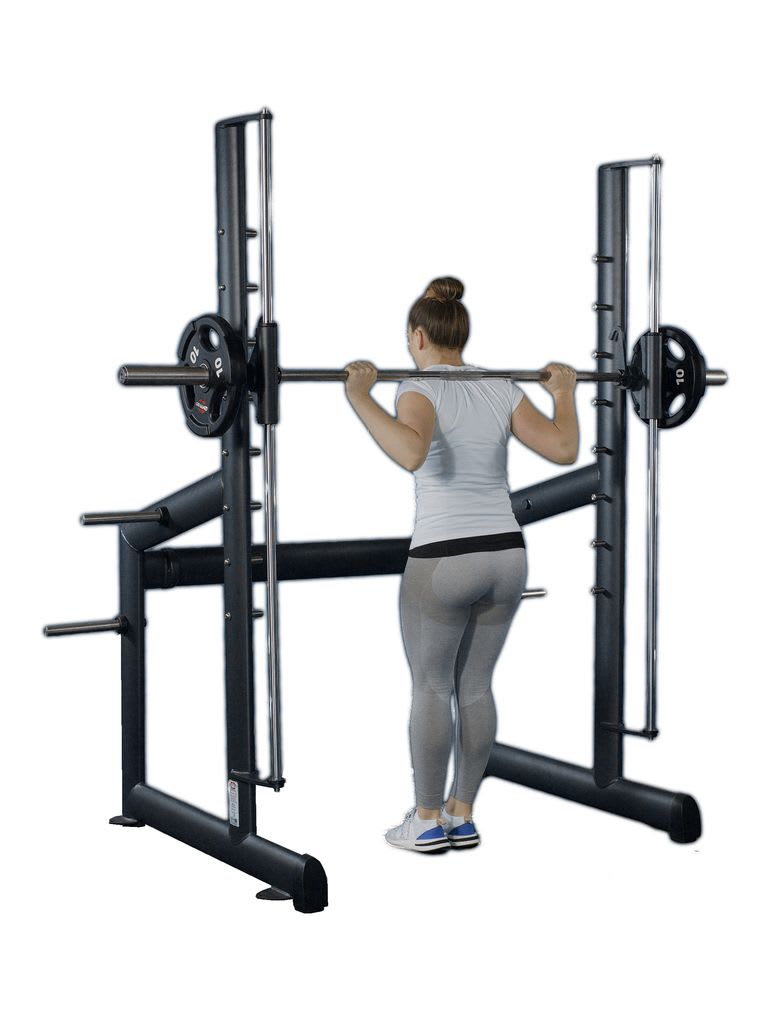 Multi Press Station with Barbell | CN004002