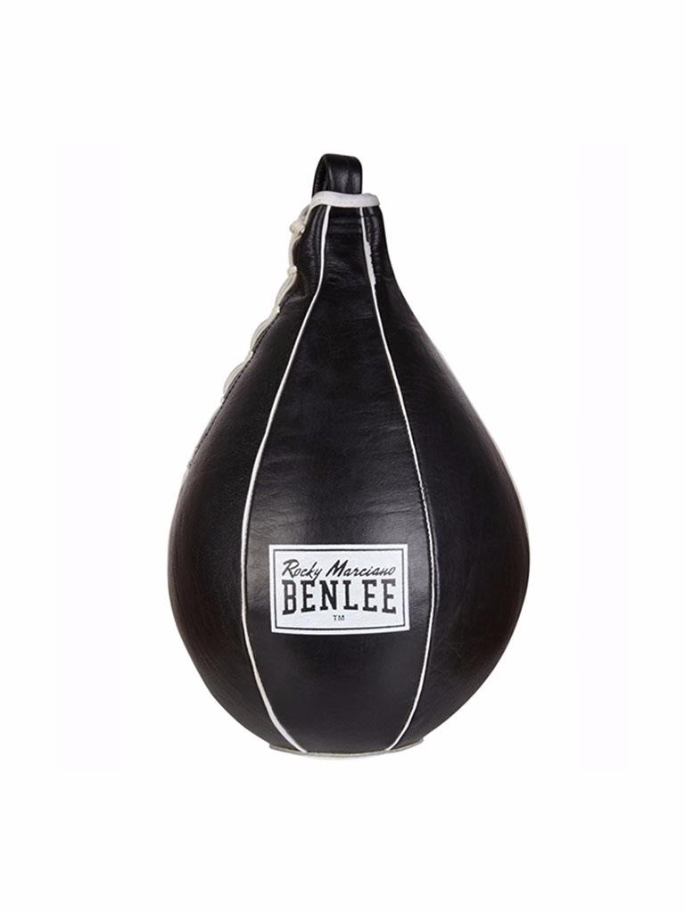 Leather Speedball Mack Black-White Large