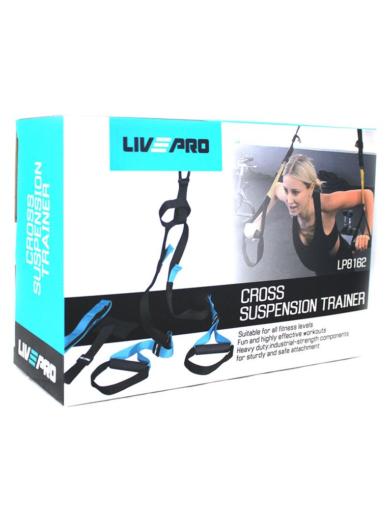 Cross Suspension Trainer LP8162 | Black/Blue