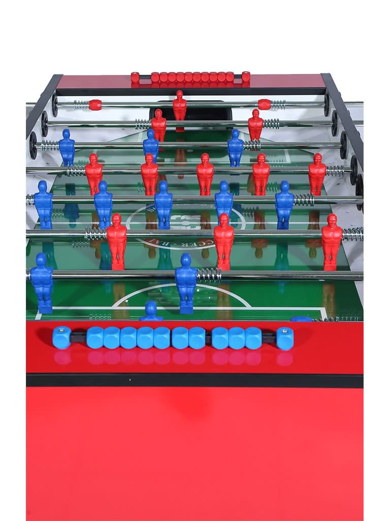 Tournament Football Table Red