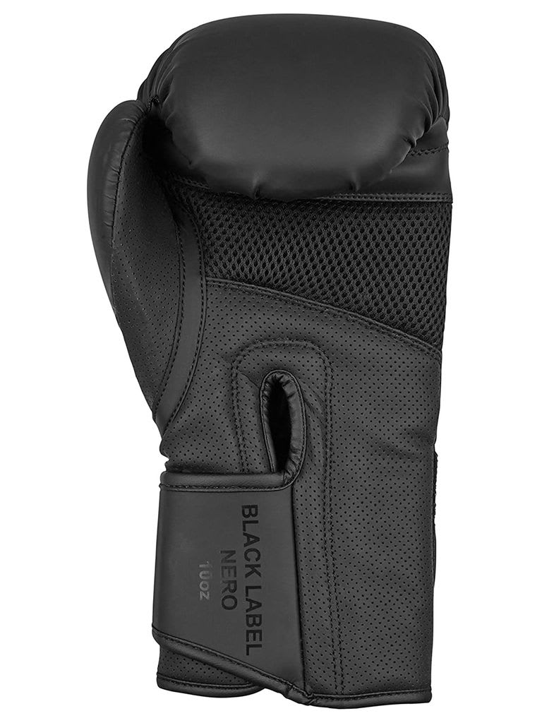 Artificial Leather Gloves Light Black