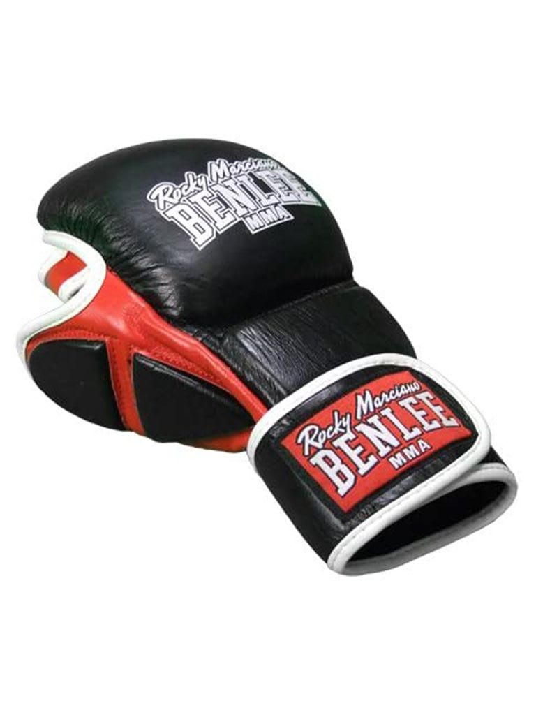 Leather MMA Sparring Glove 190039/1000 Black XL
