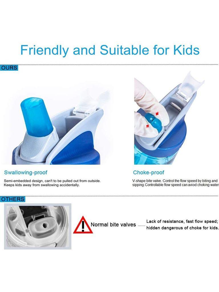eddy+ Kids Accessory 4 Multi BV/2 Straws