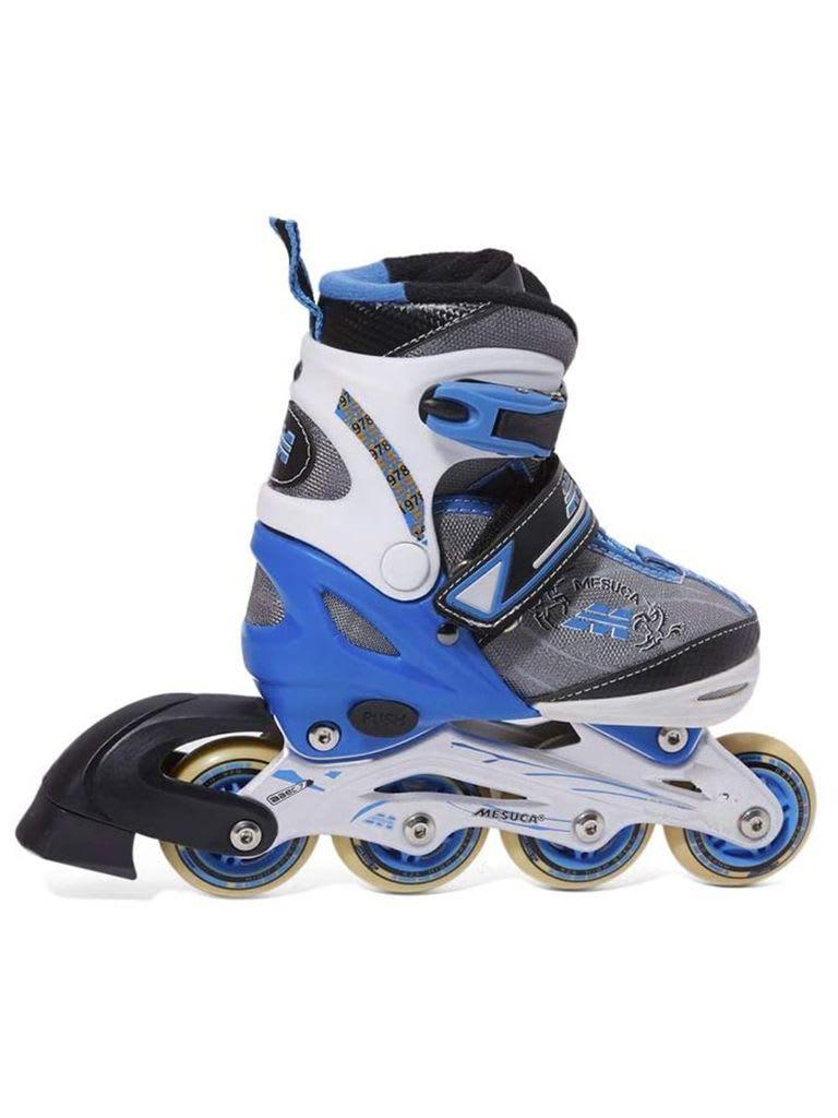 Adjustable Inline Roller Skate | MCB21067 Blue Alum