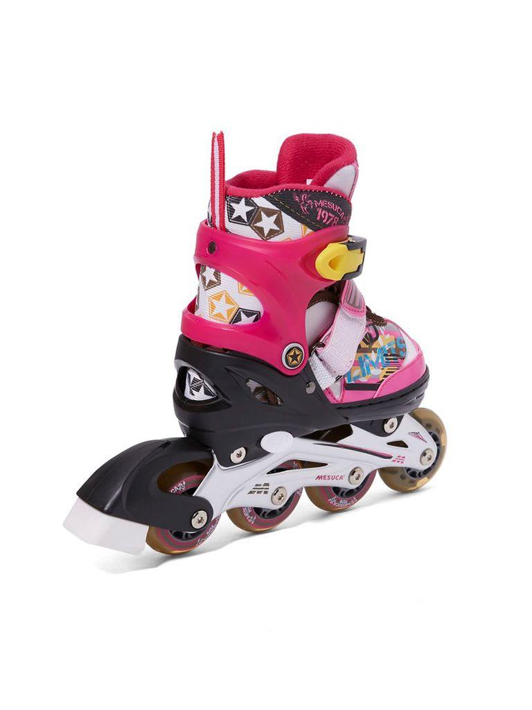 Adjustable Inline Roller Skate   MCB21031 Pink Alum