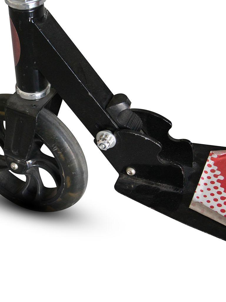 Full Alum Folding PU Wheel Scooter   ZS-D007