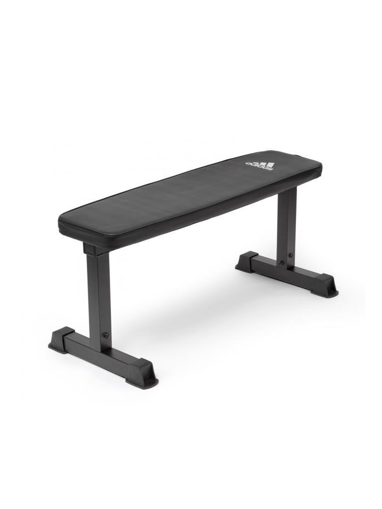 Essential Flat Bench (Black)