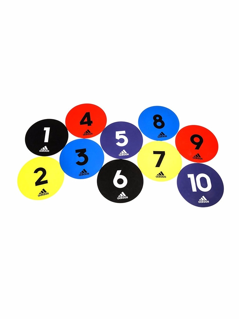Flat Training Markers - 10 piece