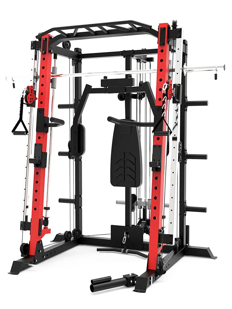 Smith Trainer Set with Bench and Weights