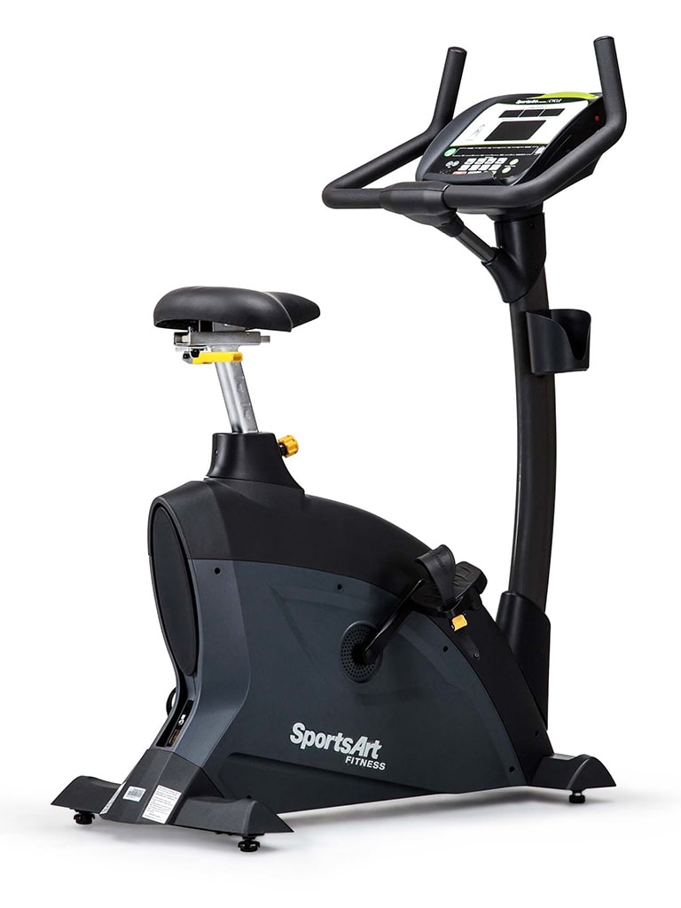 Upright Bike with Self Generating Power