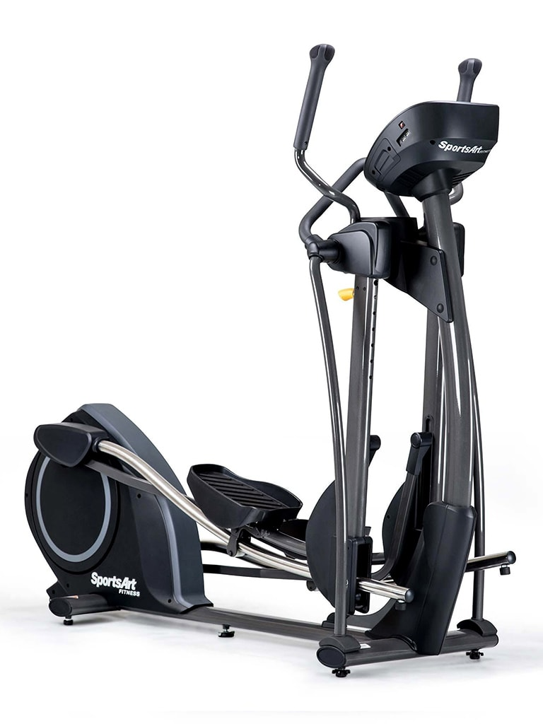 Elliptical Cross Trainer with Self Generating Power