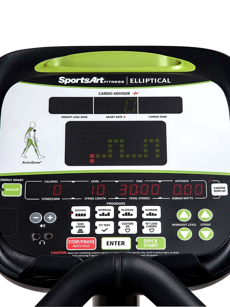 Elliptical Cross Trainer with LED Display | E845S