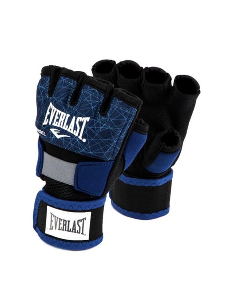 Printed Evergel Hand Wraps Gloves - L   Blue