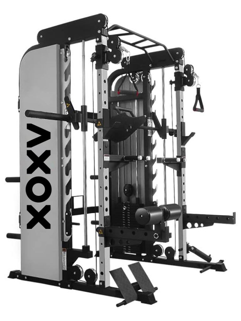 Elite Pro Trainer Multi Gym Rack System with Bench