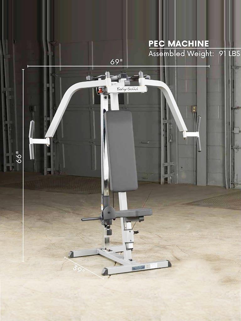 Plate Loaded Pec Machine GPM65