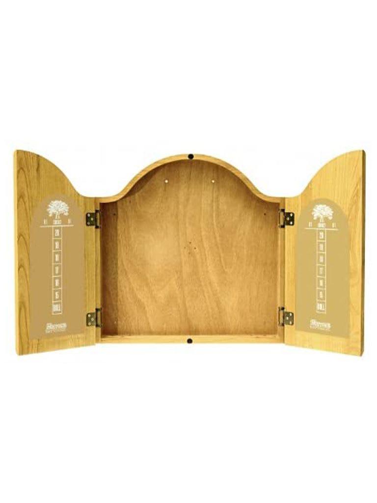 Dart Board Cabinet (Solid Oak)