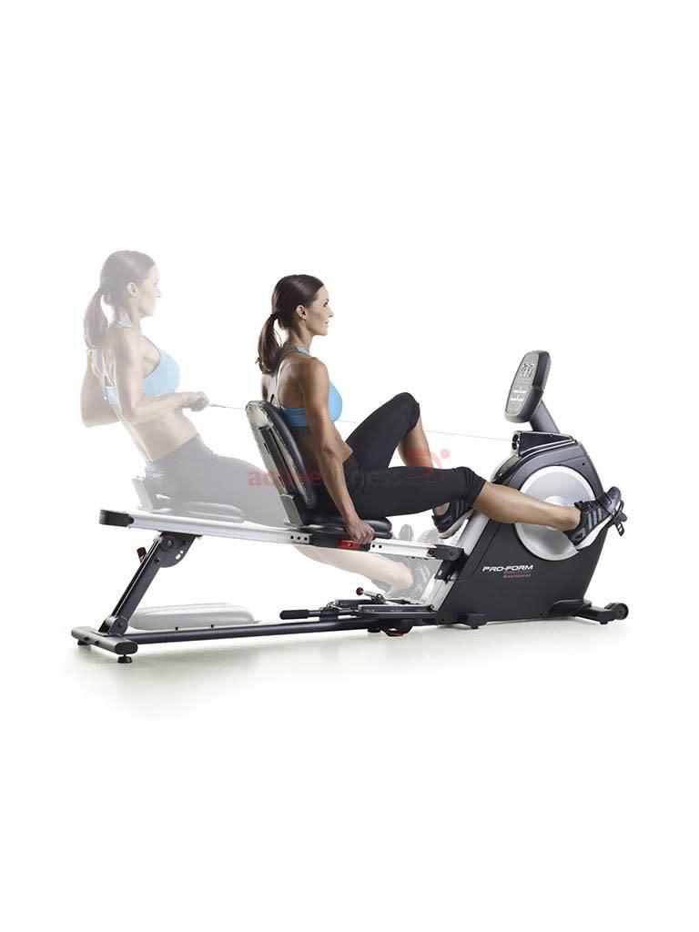 Dual Trainer Bike Rower