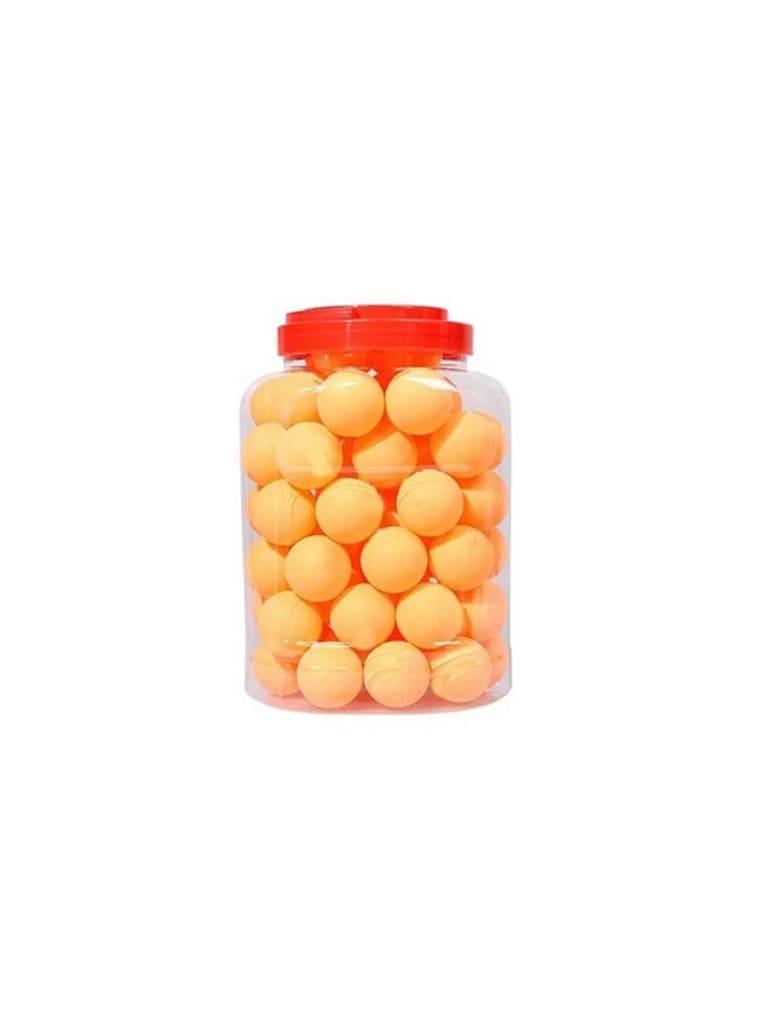 Table Tennis Ball 60 Pcs Bottle   Orange Abs