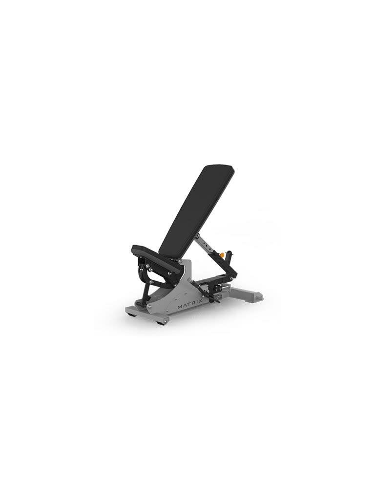 Flat-to-incline Bench with Horizontal Adjustment