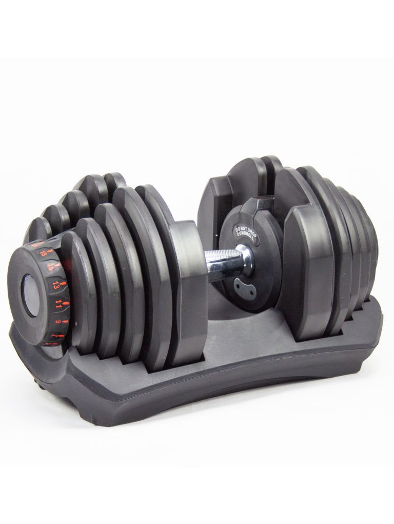 Adjustable Dumbbell with Stand