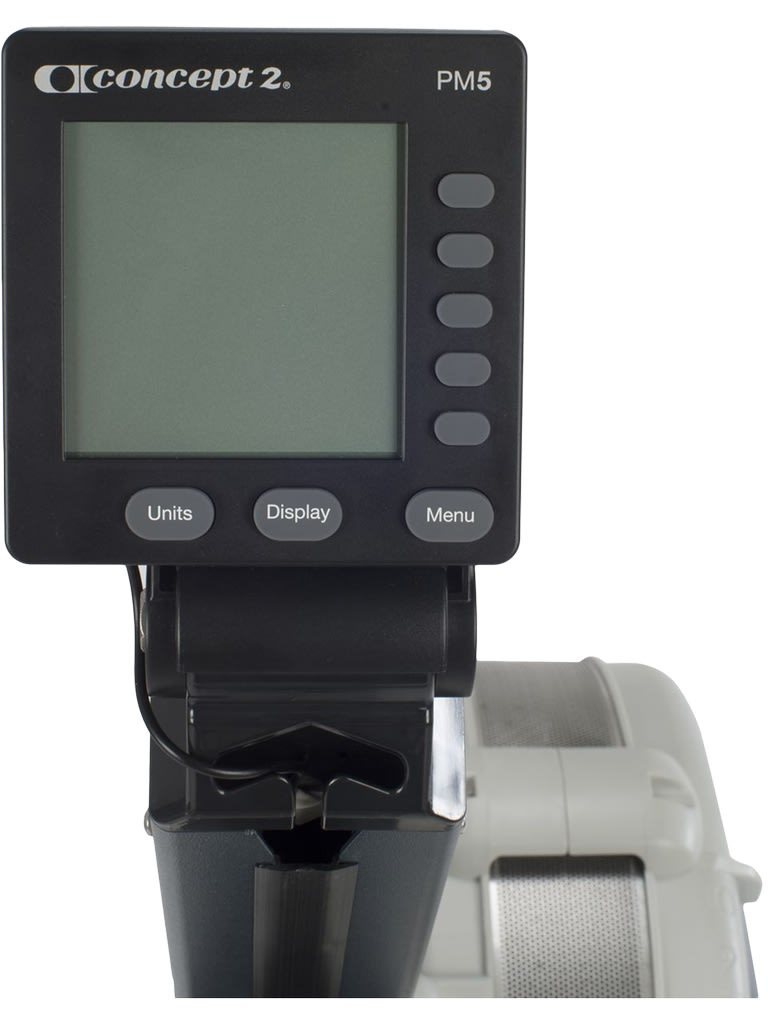 Indoor Rower Model D with PM5 Monitor   Light Grey