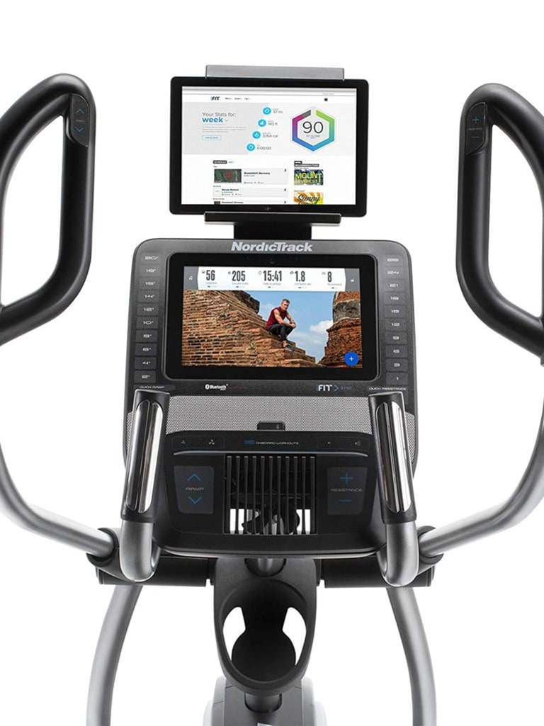 Commercial 14.9 Elliptical Cross Trainer, 10 Inch Touch Screen, iFIT, Ipod Compatible