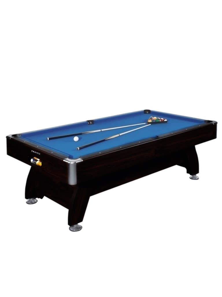 8 Feet Wooden Billiard Table Blue