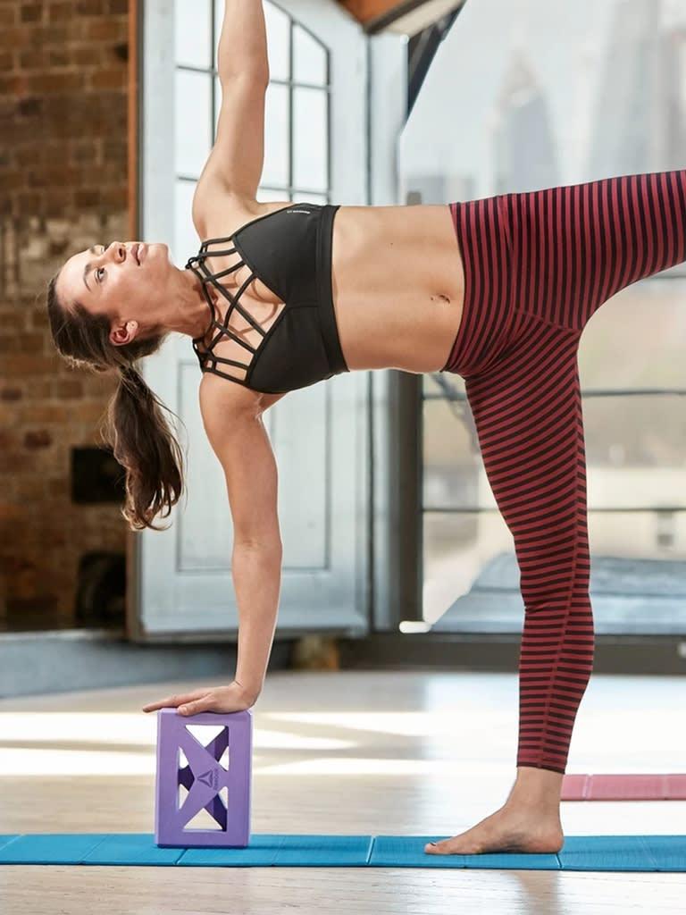 Shaped Yoga Block