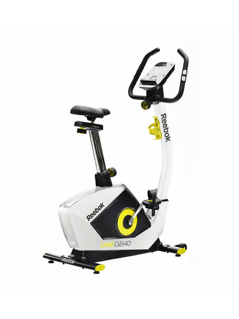 GB40 One Series Bike - White | Yellow Trim