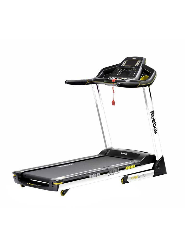 Gt40 One Series Treadmill - Black|Yellow